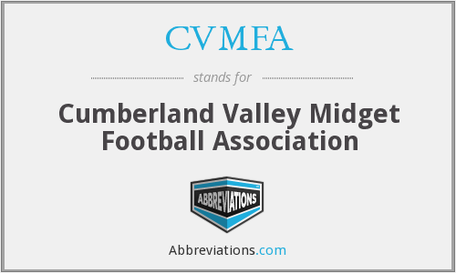 What does CVMFA stand for?
