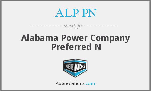 What does ALP PN stand for?