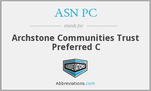 What does ASN PC stand for?
