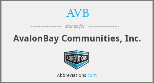 What does AVB stand for?