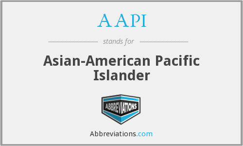 What does AAPI stand for?