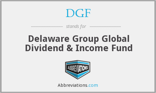 What does DGF stand for?