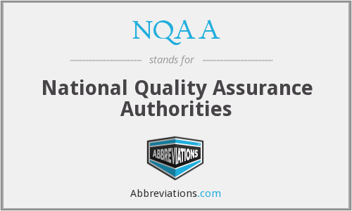 What does NQAA stand for?