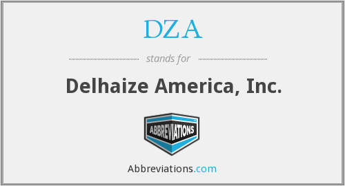 What does DZA stand for?