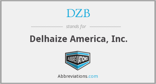 What does DZB stand for?