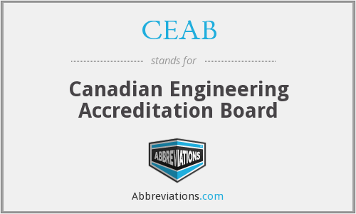 What does CEAB stand for?