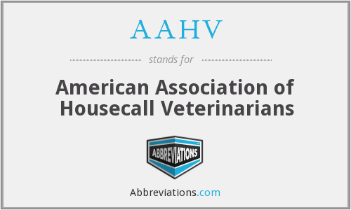 What does AAHV stand for?