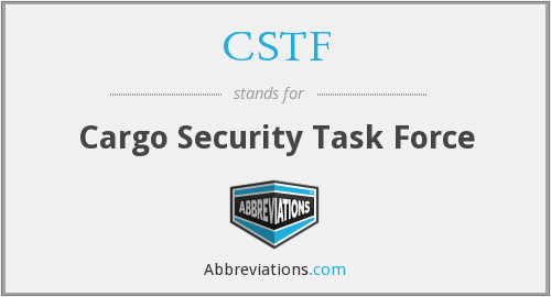 What does CSTF stand for?