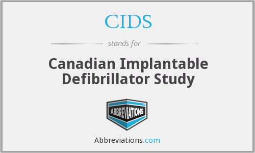 What does CIDS stand for?