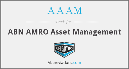 What does AAAM stand for?