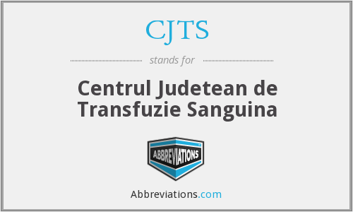 What does CJTS stand for?