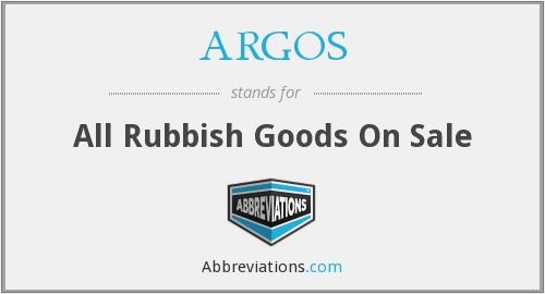 What does ARGOS stand for?