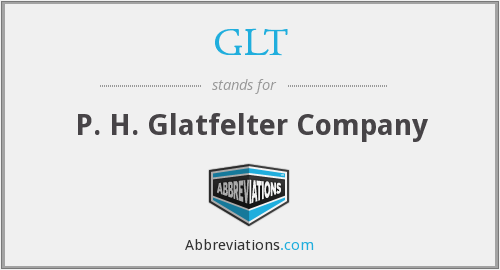 What does GLT stand for?