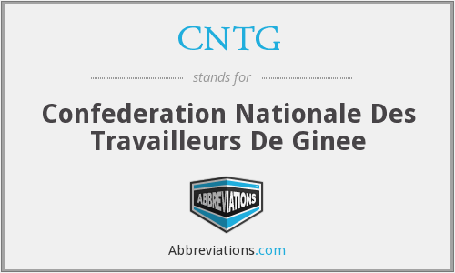 What does CNTG stand for?