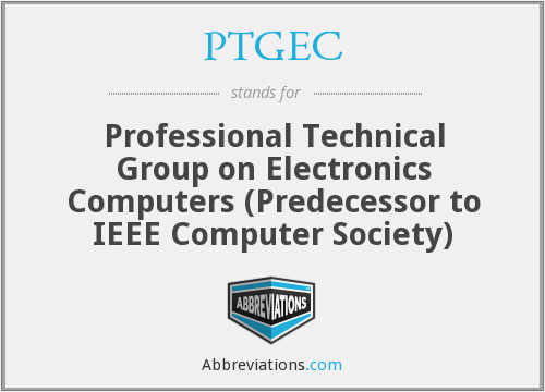 What does PTGEC stand for?