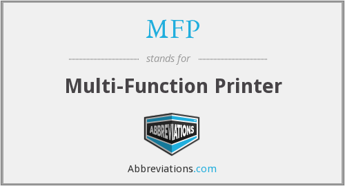 What does MFP stand for?