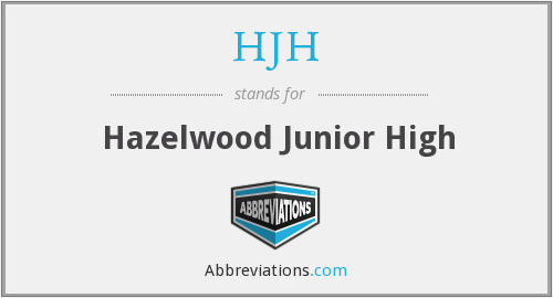 What does HJH stand for?