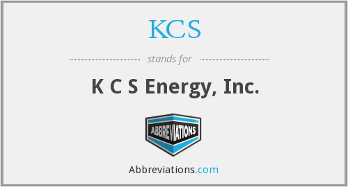 What does KCS stand for?