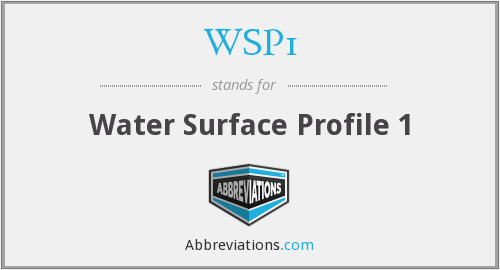 What does WSP1 stand for?