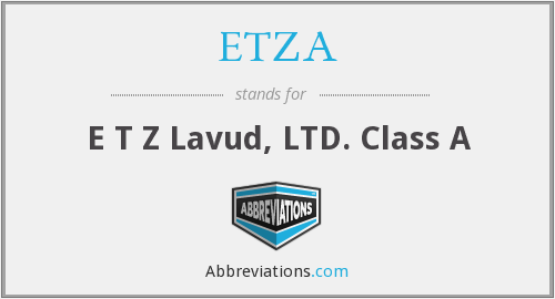 What does ETZA stand for?