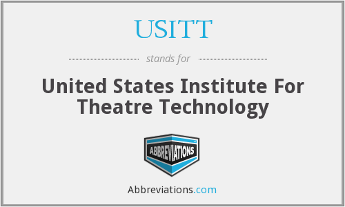 What does USITT stand for?