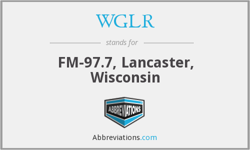 What does WGLR stand for?