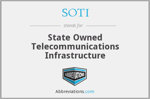 What does SOTI stand for?