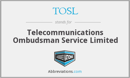 What does TOSL stand for?