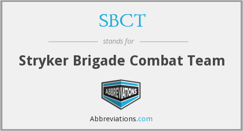 What does SBCT stand for?