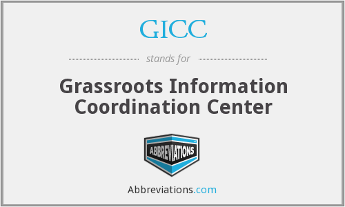 What does GICC stand for?