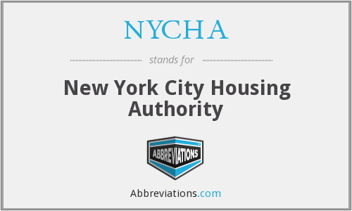 What does NYCHA stand for?