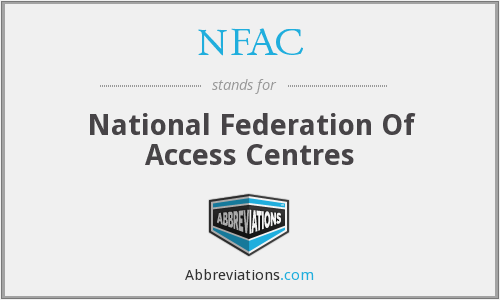 What does NFAC stand for?