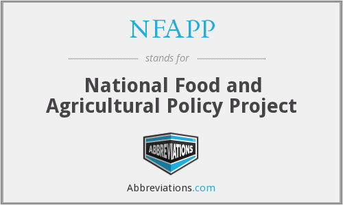What does NFAPP stand for?