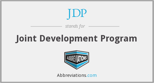 What does JDP stand for?