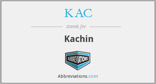 What does kachin stand for?