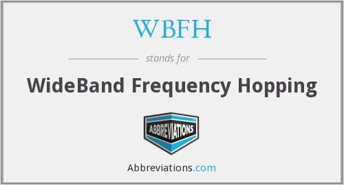 What does WBFH stand for?