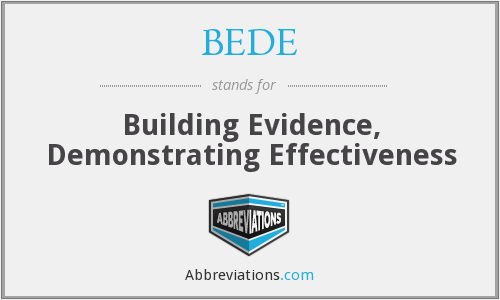 What does BEDE stand for?