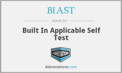 What does BIAST stand for?