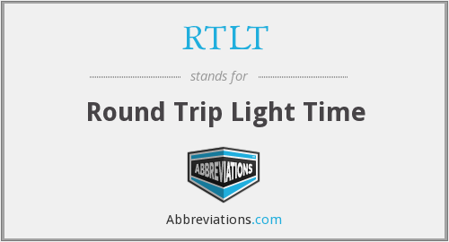 What does RTLT stand for?