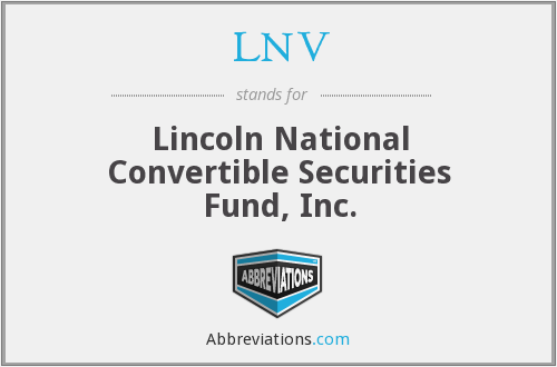 What does LNV stand for?