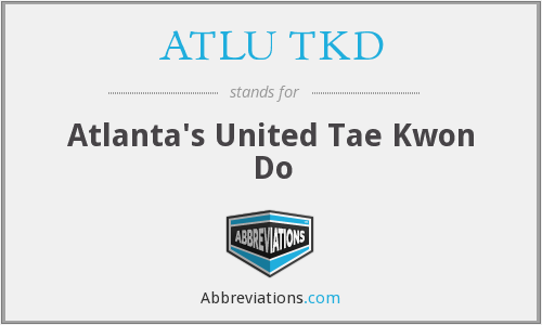What does ATLU TKD stand for?