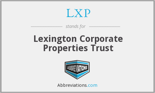 What does LXP stand for?