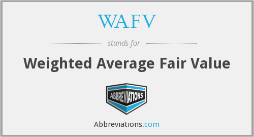 What does WAFV stand for?