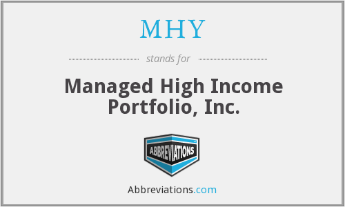 What does MHY stand for?