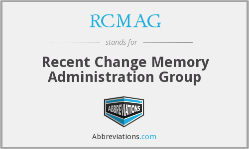What does RCMAG stand for?