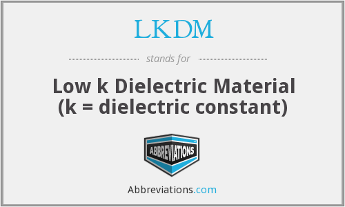 What does LKDM stand for?