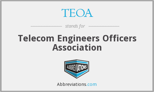 What does TEOA stand for?