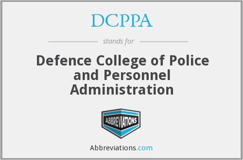 What does DCPPA stand for?