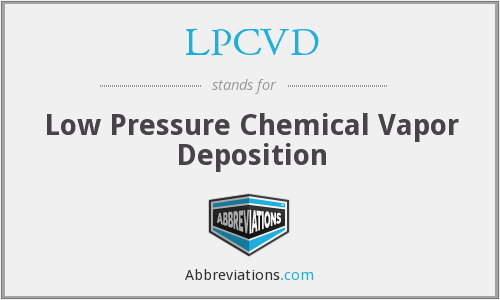 What does LPCVD stand for?