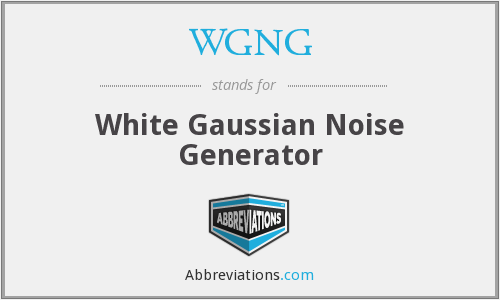 What does WGNG stand for?